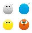 Expression faces vector image vector image