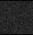 grey bubbles circles on black background dots vector image vector image