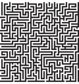 Maze seamless pattern vector image vector image