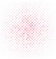 pink heart pattern background design - valentines vector image vector image