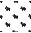 Rhinoceros icon in black style isolated on white vector image vector image