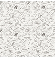 seamless pattern of variety men shoes vector image