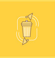 waste disposal garbage management recycle flat vector image