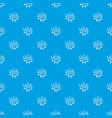 wow explosion effect pattern seamless blue vector image vector image