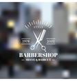 Barbershop vector image vector image