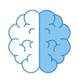 brain isolated icon vector image vector image