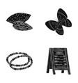service products and other web icon in black vector image