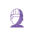 worker faceless profile vector image vector image