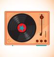 vinyl records player vector image