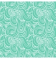 Seamless wave hand-drawn pattern vector image