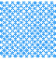 blue puzzle pieces jigsaw - - field chess vector image vector image