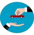 Car sale concept eps 10 vector image