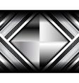 elegant metallic backgrounds vector image vector image