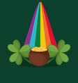 happy saint patricks day design vector image vector image