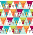 Hipster style seamless pattern vector image vector image