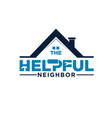 home service and real estate builder logo designs vector image