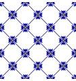 indigo pattern vector image vector image