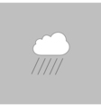 rain computer symbol vector image