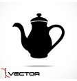 Teapot Icon vector image vector image