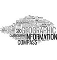 geographic word cloud concept