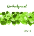 Acrylic Eco background vector image vector image