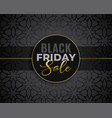 awesome black friday sale background vector image