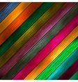 Colorful wooden Pattern background vector image vector image