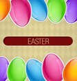 easter design vector image vector image