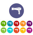 hair dryer icon simple style vector image vector image