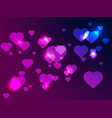 happy valentines day 14th of february bright vector image vector image