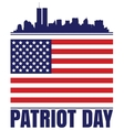 Patriot Day vector image vector image
