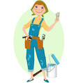 Save money on renovation vector image vector image