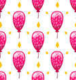 Seamless pattern with cute cartoon balloons 6 vector image