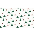 Seamless wrap Christmas pattern for gift vector image vector image