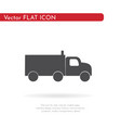 truck icon for web business finance and vector image vector image