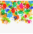 Abstract Splashes Background vector image