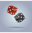 dices vector image