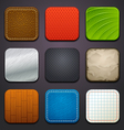 background for app icons-part 4 vector image vector image