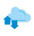 cloud storage icon image vector image vector image
