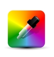color picer icon vector image