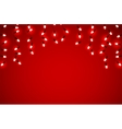 holidays garlands light vector image