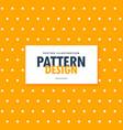 polka dots on bright orange background vector image