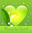 Sumer love card vector image
