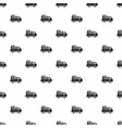 truck homeless family pattern seamless vector image
