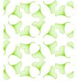 Ginkgo biloba leaves seamless pattern vector image