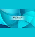 abstract transparency circle banners on blue vector image vector image