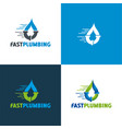 fast plumbing vector image vector image