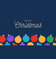 horizontal seamless holiday pattern with vector image vector image