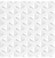 light semless floral background vector image