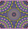 pattern colorful seamless vector image vector image